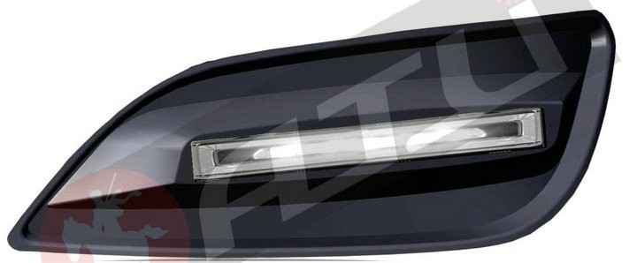 Latest Ultra bright ! LED Special Daytime Running Light Universal popular automatic daytime running light for Ford Focus