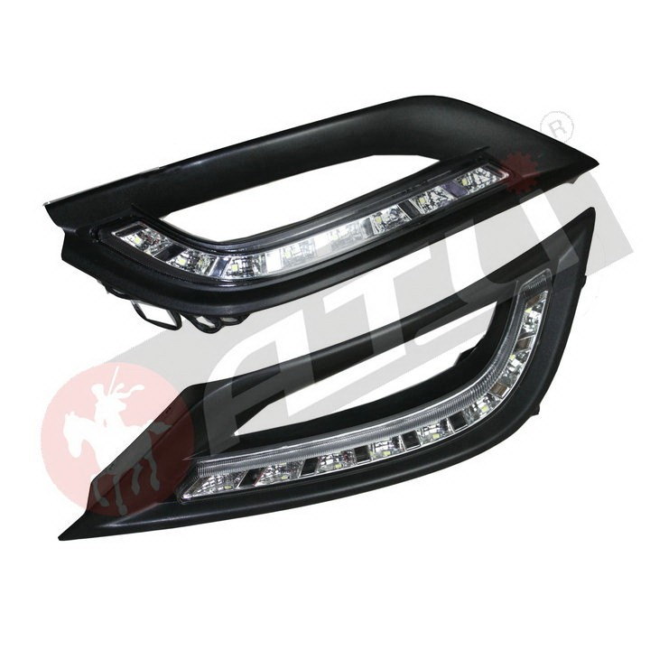 High quality powerful car drl led daytime lights