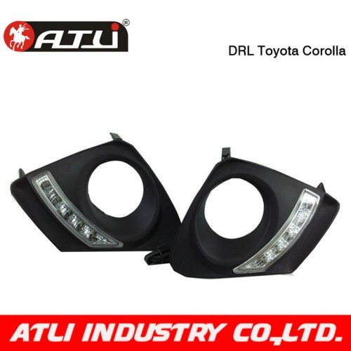 Multifunctional useful drl high bright 8 led driving lamps
