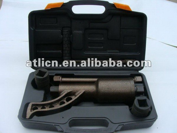Latest economic double ring ratchet wrench