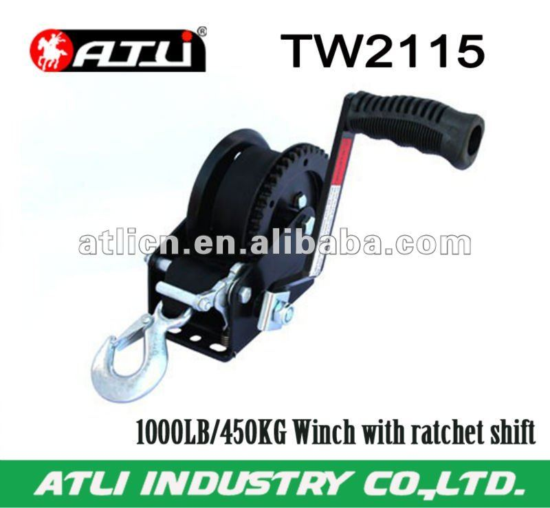 1000LB/450KG Winch with ratchet shift