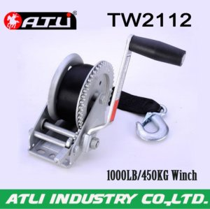 High quality hot-sale 1000LB/450KG Trailer Winch TW2112,hand winch