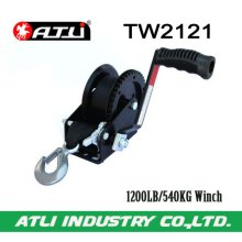 High quality hot-sale 1200LB/540KG Trailer Winch TW2121,hand winch