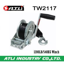 High quality hot-sale 1200LB/540KG Trailer Winch TW2117,hand winch