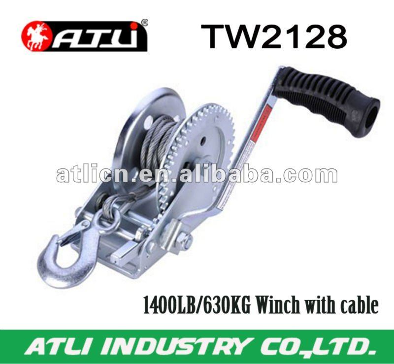 1400LB/630KG Winch with cable