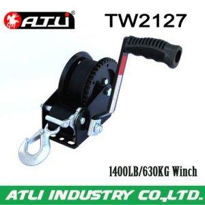 High quality hot-sale 1400LB/630KG Trailer Winch TW2127,hand winch