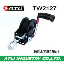 High quality hot-sale 1400LB/630KG Trailer Winch TW2127,hand winch