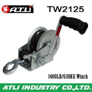 High quality hot-sale 1400LB/630KG Trailer Winch TW2125,hand winch