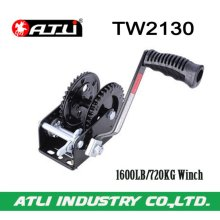 High quality hot-sale 1600LB/720KG Trailer Winch TW2130,hand winch