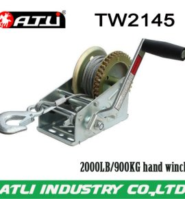 High quality hot-sale 2000LB/900KG hand winch TW2145,trailer winch