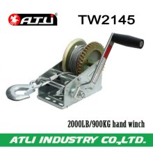 High quality hot-sale 2000LB/900KG hand winch TW2145,trailer winch