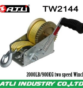 High quality hot-sale 2000LB/900KG two speed Winch TW2144,hand winch