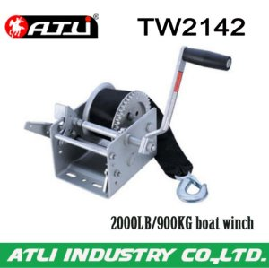 High quality hot-sale 2000LB/900KG boat winch TW2142,hand winch