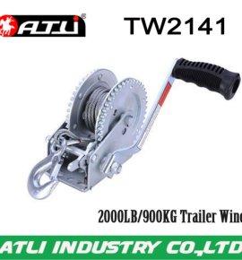 High quality hot-sale 2000LB/900KG Trailer Winch TW2141,hand winch