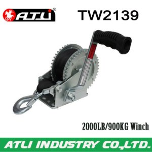 High quality hot-sale 2000LB/900KG trailer Winch TW2139,hand winch