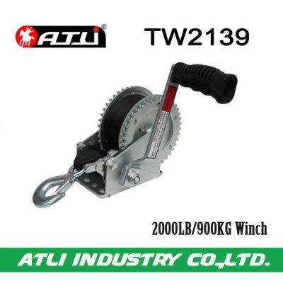 High quality hot-sale 2000LB/900KG trailer Winch TW2139,hand winch