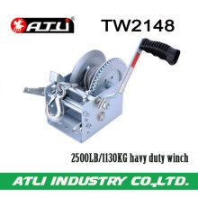 High quality hot-sale 2500LB/1130KG trailer winch TW2148,hand winch small