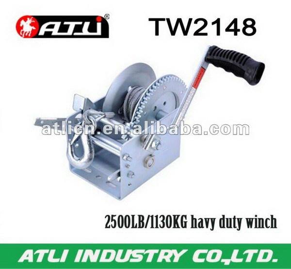 Multifunctional powerful 2500lbs winch