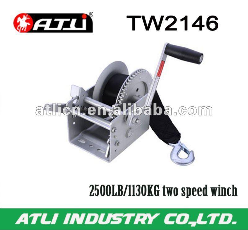 2500LB/1130KG two speed winch