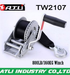 High quality hot-sale trailer winch TW2107,hand winch small