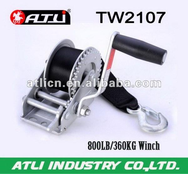 hand cable winch small winch trailer winch