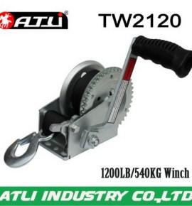 High quality hot-sale hydraulic trailer winch TW2120,hand winch
