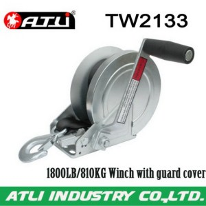 Safety super power solenoid winch