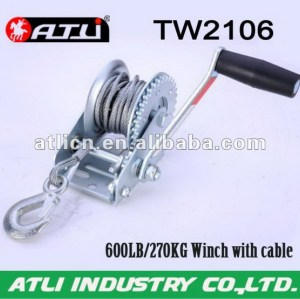 Multifunctional low price manual brake winch