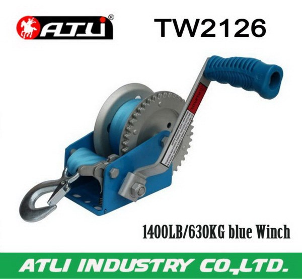 2013 new new model webbing winch