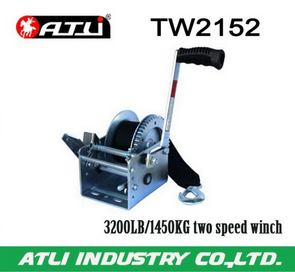 Practical economic low speed winch