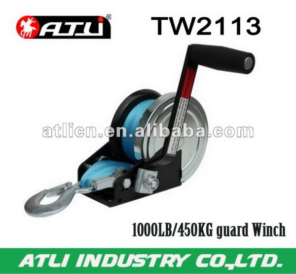 2013 new design hand winch cable winches