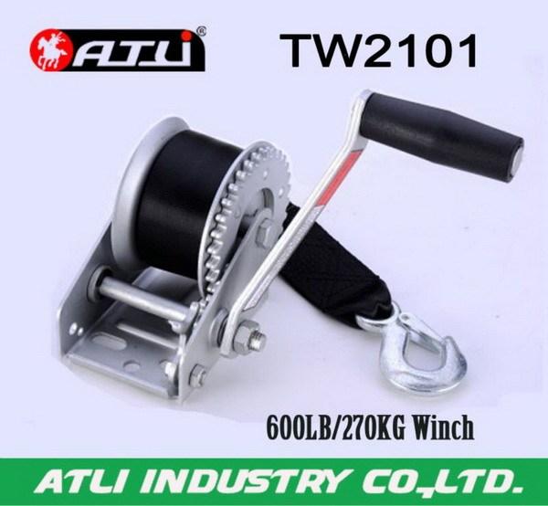 Adjustable fashion winch tower