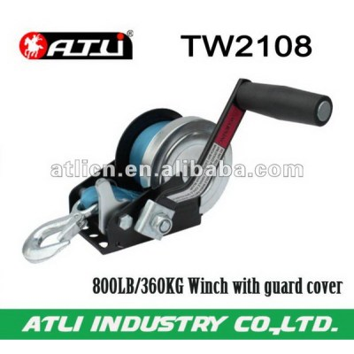 Practical economic permanent magnetic winch motor