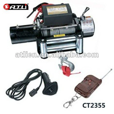 High quality new model tractor winch CT2355,12v electric winch