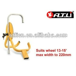 Practical factory price steel tyre lock for vehicles and motorcycle TL-2007,wheel lock