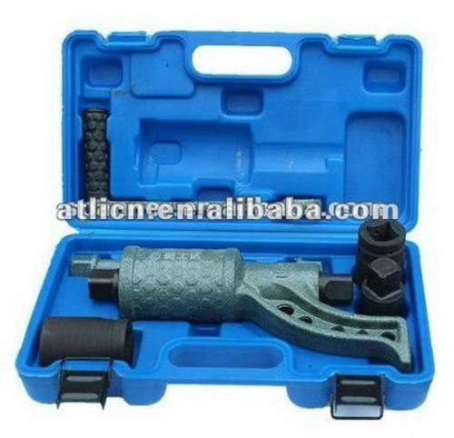 Adjustable new model key ring wrench