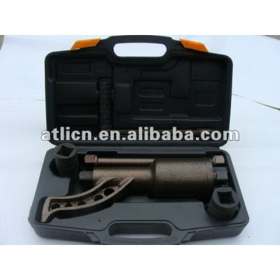 Safety economic extendable ratchet wrench