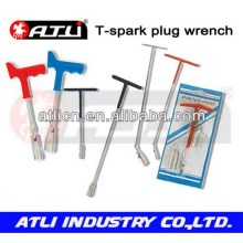 Practical and good quality plastic handle spark plug wrench T-spark plug wrench,car repairing wrench