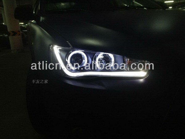 Top quality popular for mitsubishi for lancer 2010-2012 headlight