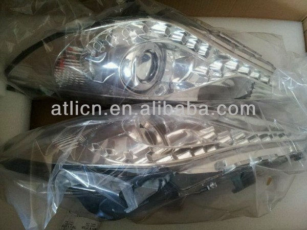 Top quality hot-sale headlights for hyundai sonata