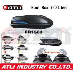 Hot selling Medium Size RR1583 Aluminium Roof Box,luggage box