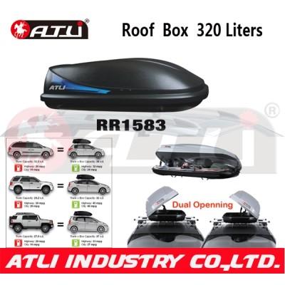 Hot selling Medium Size RR1583 Aluminium Roof Box,luggage box