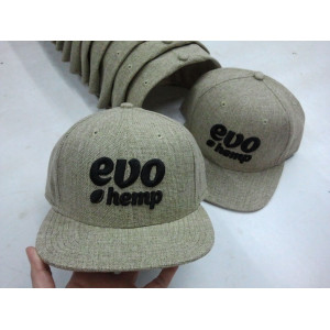 custom linen fabric snapback caps manufature in China
