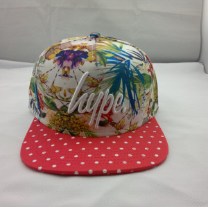 custom printed/sublimation snapback caps;custom printed/sublimation snapback caps