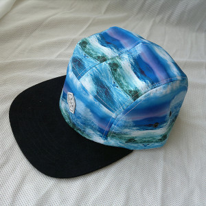 blank wholesale 5 panel hats;blue summer cap