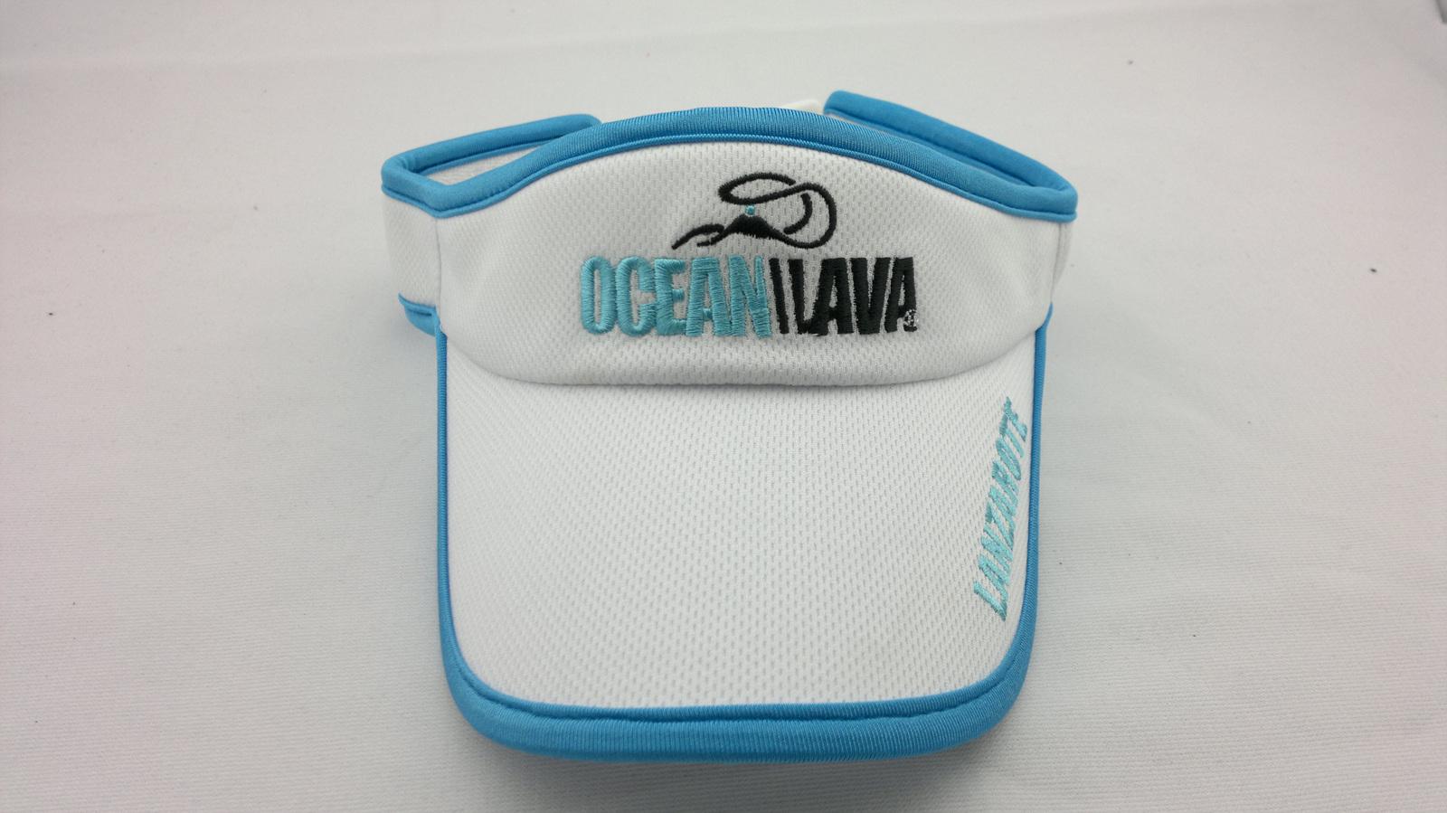 Custom visor embrodiery sun visor hat sun visor cap sun for Custom sun protection shirts