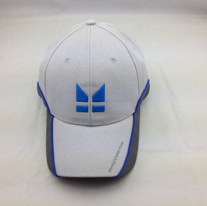 high quality baseball cap,custom embosse pu logo baseball cap