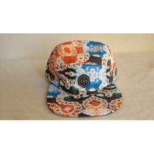 Custom Pattern 5 Panel Cap;wholesale 5 Panel Baseball Cap;Custom Logo 5 Panel Hat