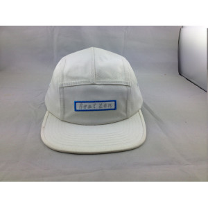 custom cotton 5-panel baseball cap;embroidery flat peak five panel hat;wholesale plain snapback caps