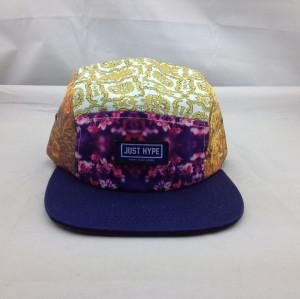 custom five panel cap Men Snapback Hip Hop adjustable Baseball Hats